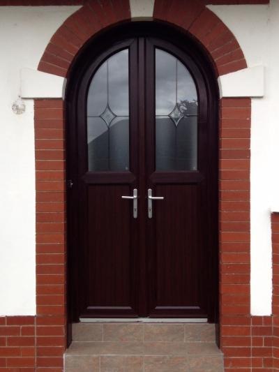 Rosewood door&double doors