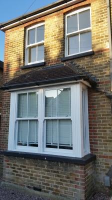 UPVc Sash Windows in CR3, Caterham, Surrey
