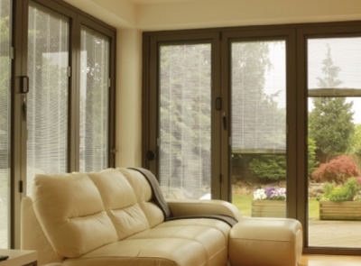 Do away with the dusting! Discover Falcon's Sunshade Integral Venetian Blinds .
