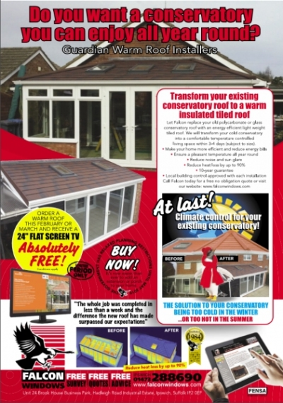 Transform your conservatory with a Guardian Warm Roof