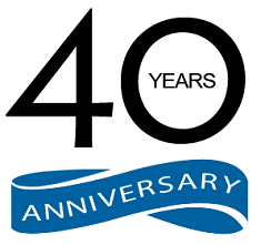 40 years anniversary logo small