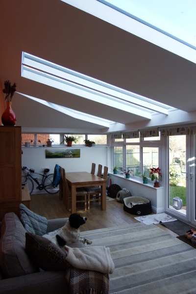 Livin Room Roof and  Garden Room