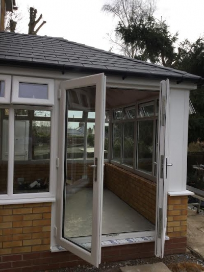 All the work that goes into a garden room...