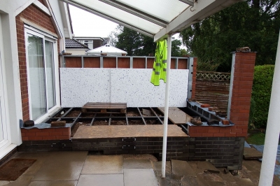 Evolution of a garden room...